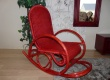 Rocking chair en rotin Renneta veranda